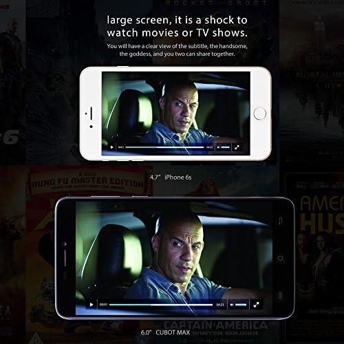 Cubot Max - 4G LTE Smartphone 6.0inch IPS HD Pantalla 720*1280px ...