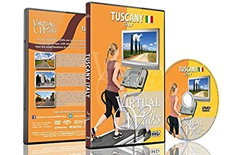 Virtual Walks - Tuscany Italy for Indoor Walking, Treadmill and Cycling Workouts (Virtual Fitness Dvds)