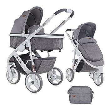 Lorelli 10020781843 2en1 cochecito de 3 ruedas Calibra Alu: Amazon.es: Bebé