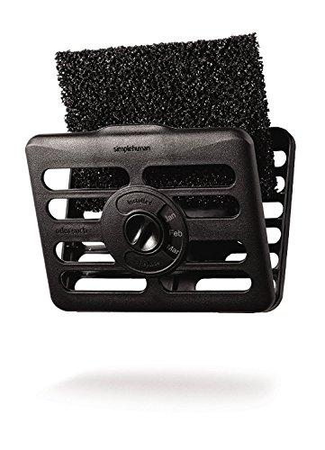 - simplehuman Odorsorb Filter Kit, Natural Charcoal