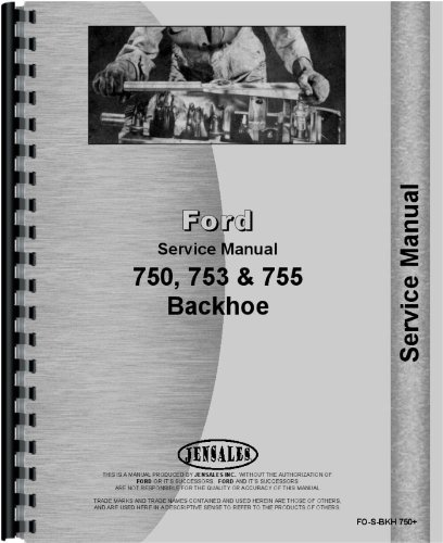 Download Ford Backhoe Attachment Service Manual PDF