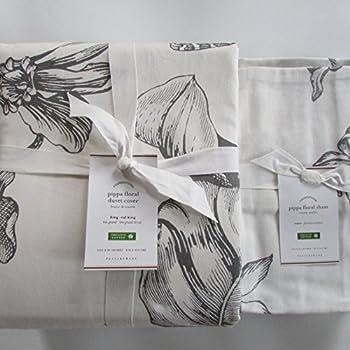 Amazon Com Pottery Barn Pippa Floral Print Duvet Cover