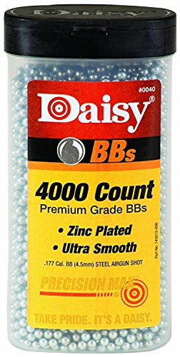 : Daisy Ammunition and CO2 40 4000 ct BB Bottle