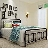 Sanest Classic Reinforced/Metal Bed Frame Queen