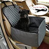 Dog Car Seat Cover for Small & Medium Dogs FLR 1 Pcs 2-in-1