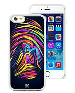 Beautiful Unique Designed iPhone 6 4.7 Inch TPU Cover Case With Adidas 9 White Phone Case