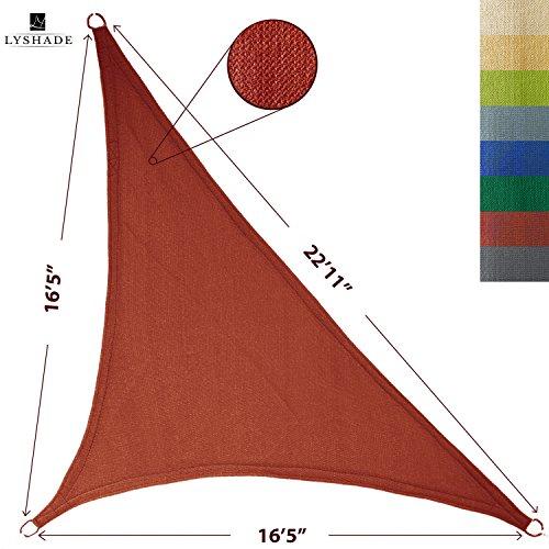 LyShade Right Triangle Canopy Terracotta