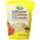 New World Foods Organic Almond Cashew Granola, 908gm