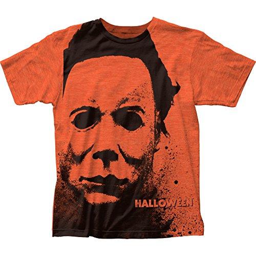 Halloween - Splatter Mask (Slim Fit) T-Shirt Size -