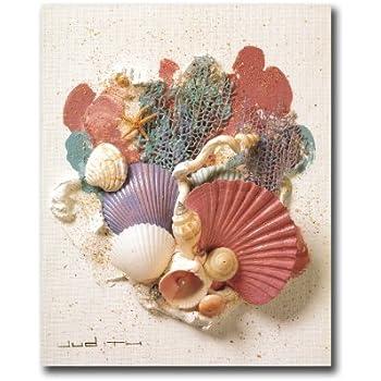 Ocean Starfish Sea Shell Beach Bathroom # 3 Wall Picture 8x10 Art Print