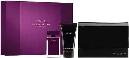 Estuche mujer Narciso Rodriguez LAbsolu For Her Perfume Eau de Parfum 50 ml + Crema Cuerpo 50 ml + Bolsa GIOSAL: Amazon.es: Belleza