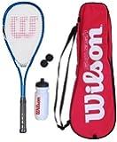 Wilson Kit squash avec raquette, balles, gourde et sac de transport
