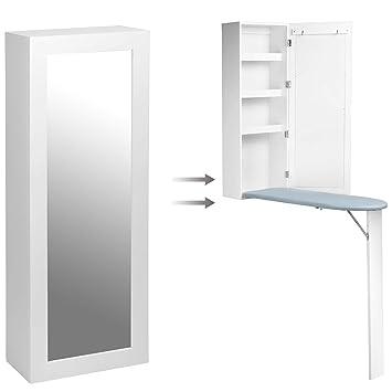 sortwise wall mount ironing board center storage cabinet foldable rh amazon ca ironing board with storage cabinet india mini ironing board storage cabinet