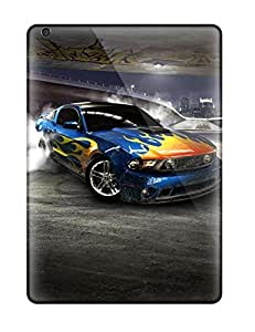 For Ipad Air Premium Tpu Case Cover Los Angeles Drifting Protective Case