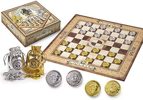 Noble Collection NN7215. Harry Potter Juego de Damas con Monedas ...