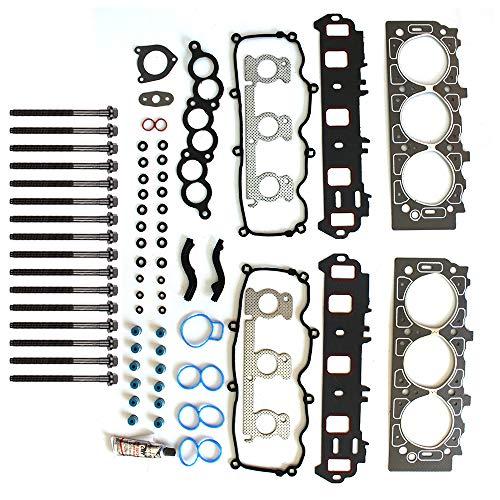 SCITOO Head Gasket Set w/Bolts Replacement for Mercury Sable Ford Taurus 01-07 Head Gaskets Kit Sets
