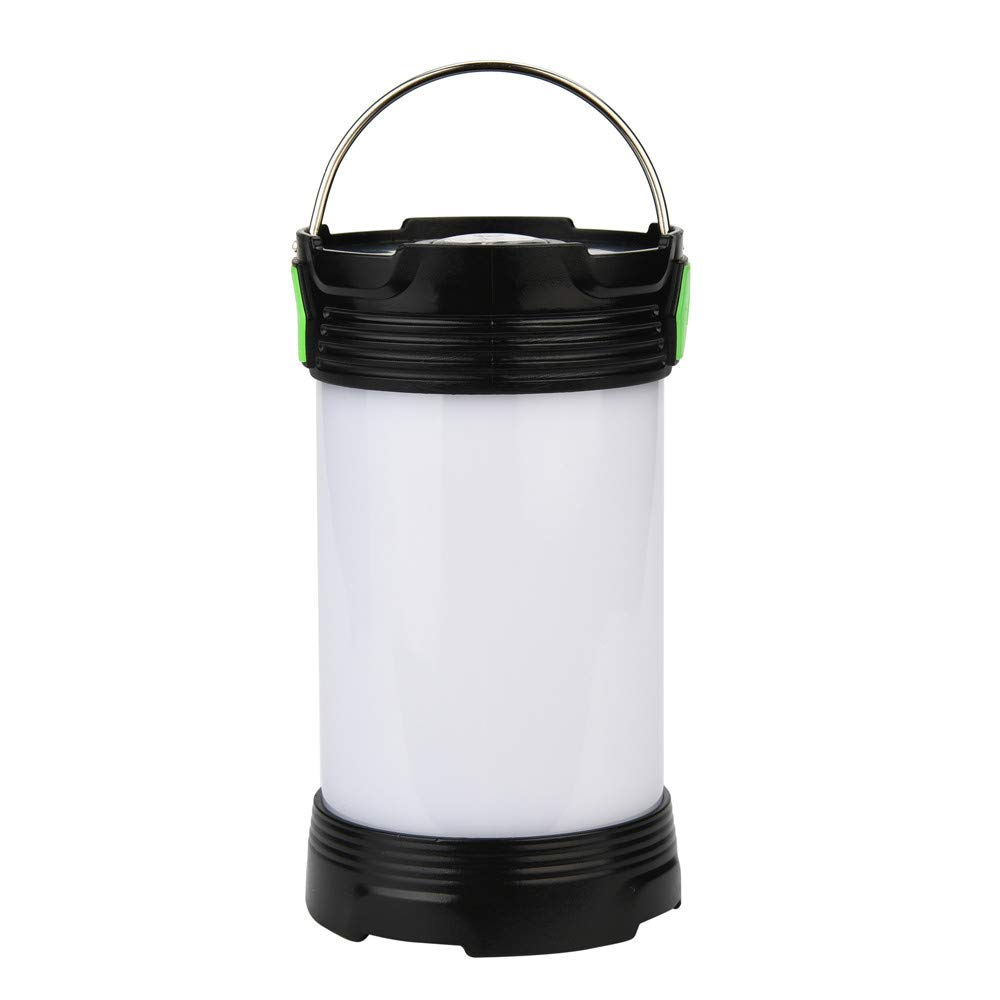 Glumes USB Rechargeable Solar Lantern, 3 Modes Collapsible LED Camping Lantern Emergency Light, Ultra Bright LED Tent Light - Portable Camping Gear for Hiking Emergencies Hurricane Outages