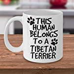 Tibetan Terrier Mug - White 11oz Ceramic Tea Coffee Cup - Perfect For Travel And Gifts 9