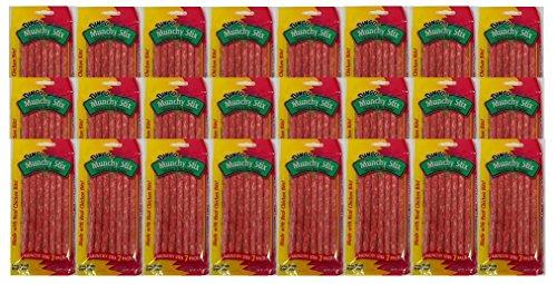 Dingo Munch Stix Treats 2.22 OZ (24 Bags of 7 Count)