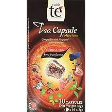 30 Nespresso Compatible Pods - Origen Tea, Forest Fruits Tea, Caffeine-Free, 3 Boxes of 10 Pods (30 total pods) (50g each pod)
