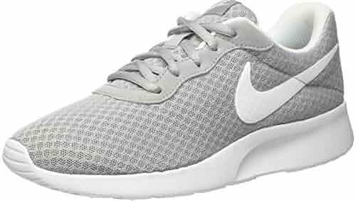 finest selection fea64 4077a Nike Womens Tanjun Running Sneaker Wolf Grey White 9.5