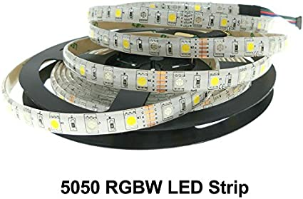 Generic RGBW LED Strip DC 12V Flexible Light (Multicolour, 5 m) Decoration Lights at amazon