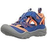 OshKosh B'Gosh Hax Boy's Bumptoe Sandal, Blue/Orange, 9 M US Toddler