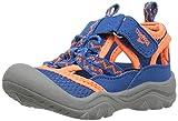 OshKosh B'Gosh Hax Boy's Bumptoe Sandal, Blue/Orange, 10 M US Toddler