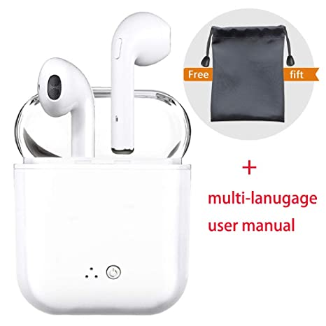 Auriculares Bluetooth, audífonos inalámbricos, audífonos con micrófono Estéreo, cancelación de Ruido Compatible con