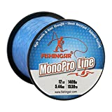 Monofilament Fishing Line Winter Ice Nylon Fishing Line High Abrasion Resistant...