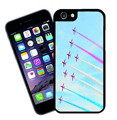 Aviazione RAF britannica rosso frecce Hawk Display Team - questa copertura si adatta Apple modello iPhone 6s (6s non plus) - di idee regalo di Eclipse