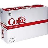 Diet Coke Soda Soft Drink, 12 fl oz, 24 Pack