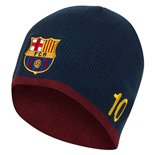 58180a289d8fc FC Barcelona Authentic Messi Knitted Hat
