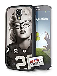 Oakland Raiders Marilyn Monroe Single Cell Phone Hard Protection Case for Samsung Galaxy S5