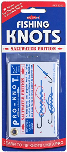 PRO-KNOT Fishing Knots Saltwater Edition