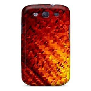 New Arrival Lava Triangles OiSKopm2826nFseg Case Cover/ S3 Galaxy Case by icecream design