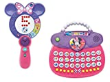 VTech Disney Minnie Mouse ABC Fashion Purse and VTech Disney Minnie Mouse Light and Learn Mirror Educational/Learning Toys for Kids Bundle
