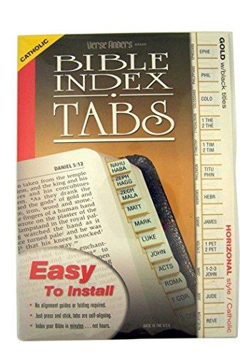 - Bible Index Tabs- Catholic