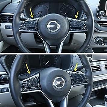 Carbon Fiber Print Interior Trim Gear Shift Knob for Nissan Sentra Altima 2020 2021 Carbon Fiber Print, Gear Shift Knob
