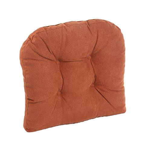 Klear Vu Twilio Chair Pad, Red (Clay Fabric)