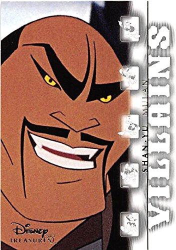 Shan Yu trading card Disney Heroes and Villains 2003 Upper Deck #160 Mulan -