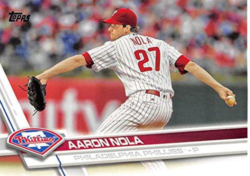 2017 Topps #340A Aaron Nola Philadelphia Phillies