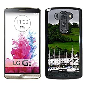 New Beautiful Custom Designed Cover Case For LG G3 With Windermere Lake District Cumbria England Phone Case