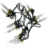 Kurt Adler 15-Light Triple Candle Light Set