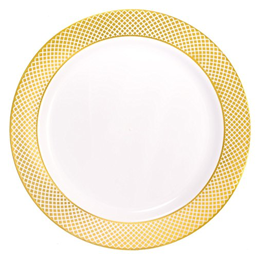White 2 Salad Plates - 3