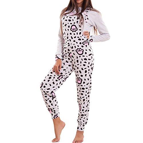 Toocool - Pijama de una pieza - para mujer gris