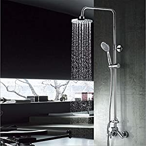 high-quality Wall - mounted out of the rain shower rods copper faucet shower-Ten years warranty
