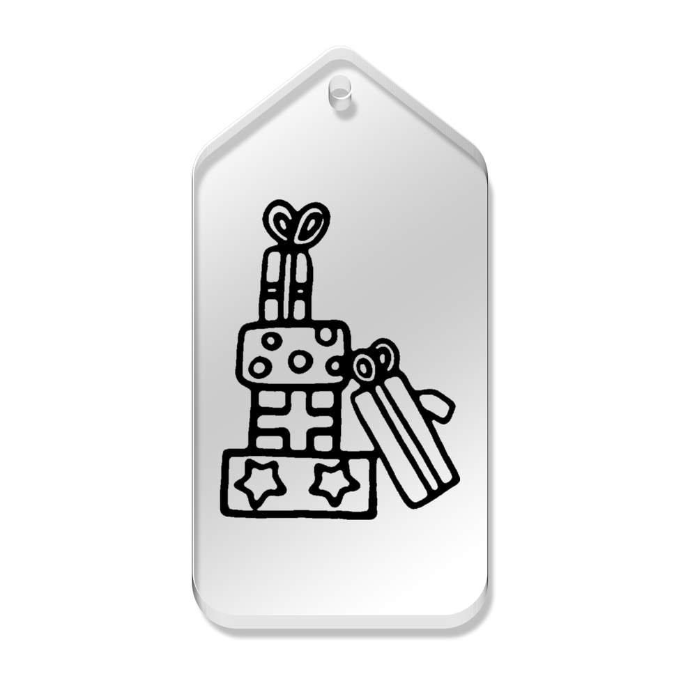 Azeeda 10 x 'Présents' etiquettes de Bagage / Cadeau (TG00069397)