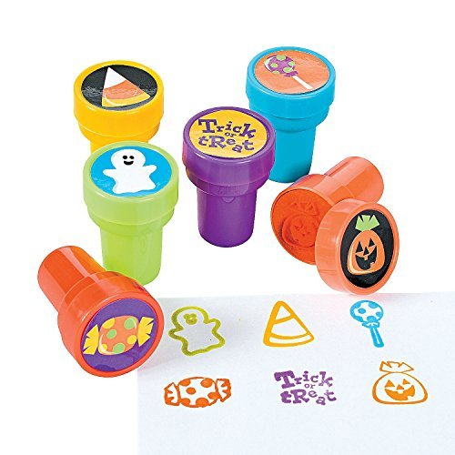6 ~ Halloween Trick or Treat Stamps / Stampers ~ Approx. 1.5