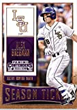 2015 Panini Contenders Season Ticket #5 Alex Bregman Baseball Card